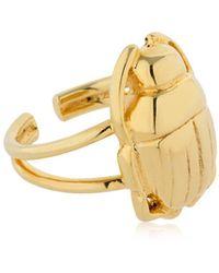 Nina Kastens Jewelry - Mini Scarab Ring - Lyst