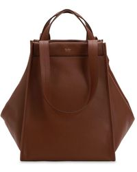Max Mara - Large Reversible Cashmere & Leather Bag - Lyst