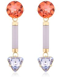 Valentina brugnatelli Anjelica Swarovski Earrings | Lyst