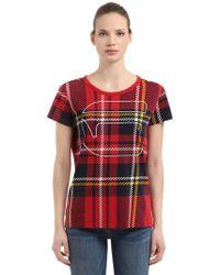 G-Star RAW - X25 Royal Tartan Print Print T-shirt - Lyst