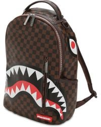 Sprayground - Mini Shark In Paris Faux Leather - Lyst