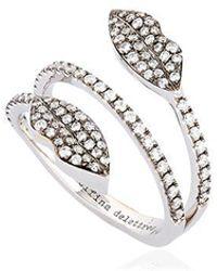 Delfina Delettrez - Marry Me Double Lips Ring - Lyst