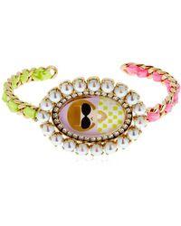Bijoux De Famille - Anna Cameo Rigid Bracelet - Lyst