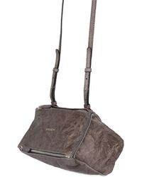 Givenchy | Mini Pandora Washed Leather Shoulder Bag | Lyst