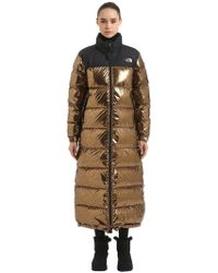 The North Face - Nuptse Duster Long Down Jacket - Lyst
