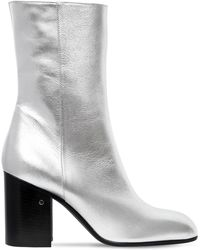 Laurence Dacade - 90mm Sailor Metallic Leather Boots - Lyst