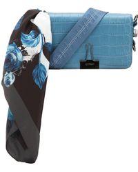 Off-White c/o Virgil Abloh - Croco Leather Printed Mini Flap Bag - Lyst