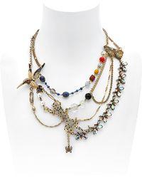 Maria Zureta - Animal Leopard Necklace - Lyst