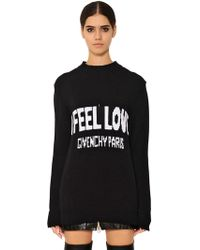 Givenchy - I Feel Love Graphic Jumper - Lyst