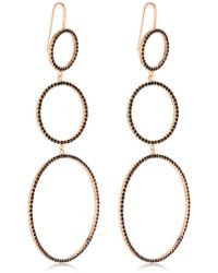 Isabel Marant - Crystal Circles Drop Earrings - Lyst