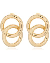Laura Lombardi - Interlock Earrings - Lyst