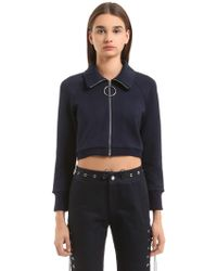 Angel Chen   Mid-length Sleeve Knit Sweatshirt   Lyst