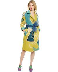 Burberry Prorsum - Cappotto in tela di lino - Lyst