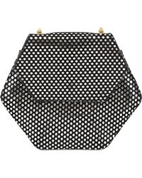 Imemoi - Esagon Dots Lasert Cut Nappa Leather Bag - Lyst