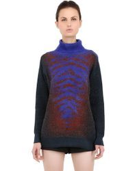 Lucas Nascimento - Turtleneck Viscose Blend Jumper - Lyst