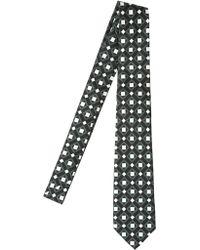 Mark Giusti - 7cm Printed Silk Twill Tie - Lyst