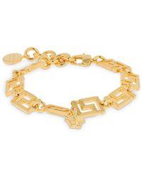 """Versace - Bracelet """"Greek Motif"""" - Lyst"""
