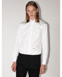 DSquared² - Lvr Exclusive Relaxed Dan Cotton Shirt - Lyst