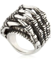 KD2024 | Ring Claw Tunnel Ring | Lyst
