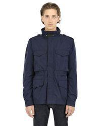 Burberry Brit - Techno Canvas Field Jacket - Lyst