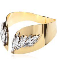 Ellen Conde - Necklace With Swarovski Crystals - Lyst