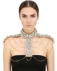 Only Child | Fool's Paradise Crystal Body Harness | Lyst