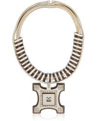 Ledaotto - Tour Eiffel Necklace - Lyst