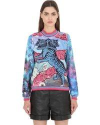 Maid In Love - Kerry Embellished Jersey Sweatshirt - Lyst