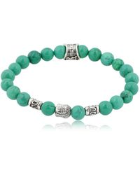Cantini Mc Firenze - Buddha Green Bracelet - Lyst