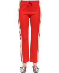 Étoile Isabel Marant - Stretch Viscose Jersey Jogger Trousers - Lyst