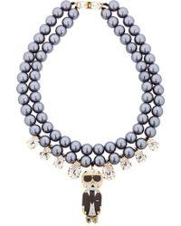 Bijoux De Famille - Karl Swarovski Necklace - Lyst
