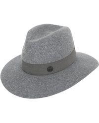 Maison Michel - Henrietta Rabbit Fur Felt Hat - Lyst