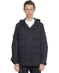 Christophe Lemaire | Water Repellent Cotton Field Jacket | Lyst