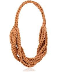 Alienina - Braided Cotton Rope Necklace - Lyst