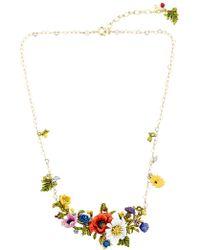 Les Nereides - Floraisons Sauvages Necklace - Lyst