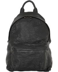 Officine Creative - Tumbled Leather Backpack - Lyst