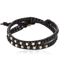 Colana - Lava Beads Wrap Bracelet - Lyst
