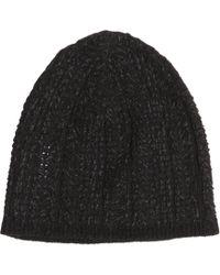 John Varvatos - Wool Blend Herringbone Hat - Lyst
