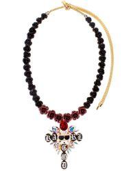 Bijoux De Famille - Karl God Cross Necklace - Lyst