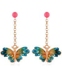 Vernissage Jewellery - Butterfly Earrings - Lyst