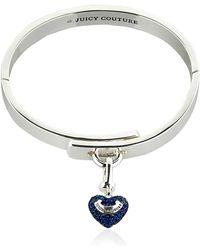 Juicy Couture - Pave Charm Bracelet - Lyst