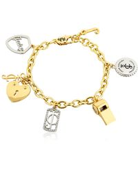 Juicy Couture - Juicy Charms Chain Bracelet - Lyst