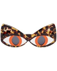 Yazbukey - Cat Face Acetate Sunglasses - Lyst