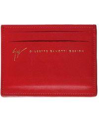 Giuseppe Zanotti - Zanotti Signature Credit Card Holder - Lyst