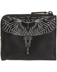 Marcelo Burlon | Asier Printed Leather Wallet | Lyst