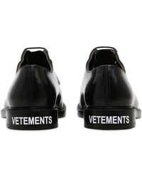 Vetements - Church's Patent Leather Derby Shoes - Lyst