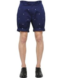 Brooks Brothers - Milano Cotton Gabardine Shorts - Lyst