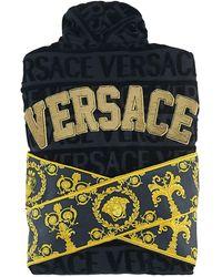 Versace - Barocco & Robe Sequined Bathrobe - Lyst