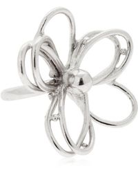 Oscar de la Renta - Botanical Scribble Flower Ring - Lyst