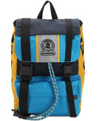 DIESEL - Invicta Nylon Canvas Backpack - Lyst